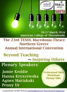 convention 2016 poster with logos and speakers